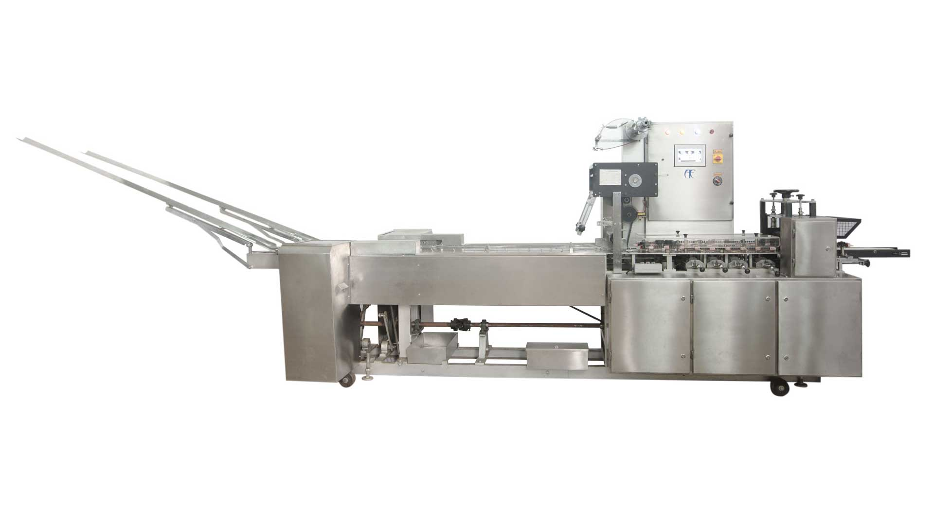 Double Shute or On-edge Wrapping Machine